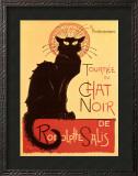 Tournée du Chat Noir, c.1896 Art by Théophile Alexandre Steinlen