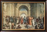 A escola de Atenas, cerca de 1511, detalhe Posters por  Raphael
