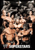WWE Collage Poster