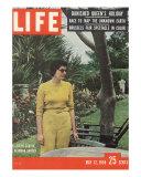 Former Queen of Iran, Soraya Esfandiary Bakhtiari, May 12, 1958 Photographic Print by Gordon Parks