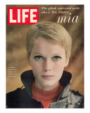 Actress Mia Farrow, May 5, 1967 Photographic Print by Alfred Eisenstaedt