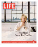 Martha Stewart in her Office at Martha Stewart Living Omnimedia, Inc., October 6, 2006 Photographic Print by Todd Eberle