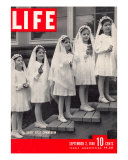 Dionne Quintuplets First Communion, September 2, 1940 Photographic Print by Hansel Mieth