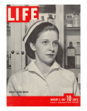 Wanted: 50,000 Nurses, Alberta Rose Krajce, Brooklyn Naval Hospital Nurse Shortage, January 5, 1942 Premium Photographic Print by Eliot Elisofon