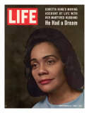 Coretta Scott King, Widow of Civil Rights Leader, September 12, 1969 Premium Photographic Print by Vernon Merritt III