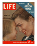 The American Woman, December 24, 1956 Fotodruck von Grey Villet