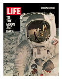 To the Moon and Back, Reflections on Astronauts Facemask, August 11, 1969 Premium-Fotodruck