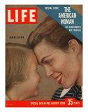 The American Woman, December 24, 1956 Fotografie-Druck von Grey Villet