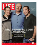 Dr. Phil McGraw with his Sons Jordan and Jay, June 17, 2005 Premium Photographic Print by Robert Maxwell