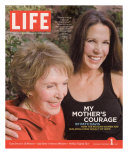 Nancy Reagan and Daughter Patti Davis, December 1, 2006 Photographic Print by Harry Benson