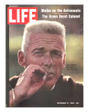 Former Green Beret Col. Robert Rheault, Smoking Cigarette, November 14, 1969 Premium Photographic Print by Henry Groskinsky