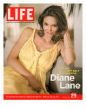 Portrait of Actress Diane Lane at Home, July 29, 2005 Photographic Print by Guy Aroch