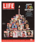 Composite Image Featuring 25 Earlier Covers, 70th Anniversary, October 13, 2006 Photographic Print