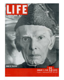 Jinnah of Pakistan, January 5, 1948 Photographic Print by Margaret Bourke-White