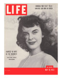 Indiana Opera Student, Surge in Midwest Cultural Life, May 18, 1953 Photographic Print by Walter Sanders