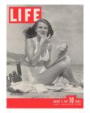 Actress Rita Hayworth, August 11, 1941 Photographic Print by Bob Landry