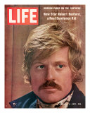 Actor Robert Redford, February 6, 1970 Photographic Print by John Dominis