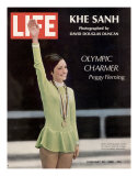 Olympic Charmer Peggy Fleming, February 23, 1968 Premium Photographic Print by Art Rickerby