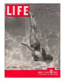 Ballet Swimmer Belita, August 27, 1945 Photographic Print by Walter Sanders