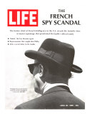 French Spy Scandal, Philippe Thyraud De Vosjoli, Head of French Intelligence in US, April 26, 1968 Photographic Print by Alfred Eisenstaedt