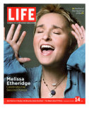 Portrait of Singer Melissa Etheridge, October 14, 2005 Photographic Print by Michael Abrahams