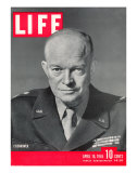 Gen. Dwight D. Eisenhower., April 16, 1945 Premium Photographic Print by David Scherman