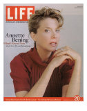 Portrait of Actress Annette Bening, October 20, 2006 Photographic Print by Brigitte Lacombe
