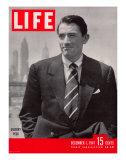 Actor Gregory Peck, December 1, 1947 Premium Photographic Print by Nina Leen