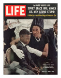 Child and Widow of Murdered Civil Rights Activist Medgar Evers at his Funeral, June 28, 1963 Photographic Print by John Loengard