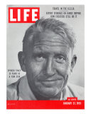 Actor Spencer Tracy, January 31, 1955 Premium Photographic Print by J. R. Eyerman