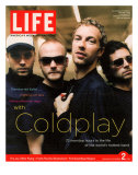 Coldplay Backstage, Air Canada Centre, Toronto, September 2, 2005 Impressão fotográfica premium por Ben Watts