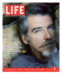 Portrait of Actor Pierce Brosnan, December 2, 2005 Photographic Print by Cliff Watts