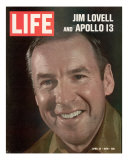 Jim Lovell, April 24, 1970 Photographic Print by Ralph Morse