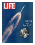 Schirra and Apollo 7, October 25, 1968 Photographic Print
