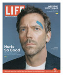 Portrait of Actor Hugh Laurie, September 1, 2006 Photographic Print by Cass Bird