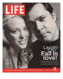TV Co-stars Virginia Madsen and Ray Liotta, September 8, 2006 Photographic Print by Cass Bird