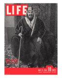 Saudi King Ibn Saud, May 31, 1943 Photographic Print by Bob Landry
