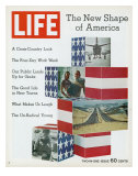 The New Shape of America, January 8, 1971 Photographic Print by Bill Eppridge