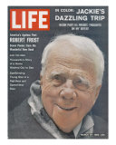 Poet Robert Frost, March 30, 1962 Premium Photographic Print by Dmitri Kessel