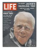 Poet Robert Frost, March 30, 1962 Premium Photographic Print by Dmitri Kessel