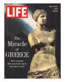 The Miracle of Greece, Statue of Aphrodite, January 4, 1963 Fotografie-Druck von Gjon Mili