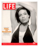 Portrait of Actress Rosario Dawson, November 25, 2005 Photographie par Karina Taira