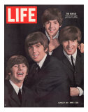 John Dominis - The Beatles, Ringo Starr, George Harrison, Paul Mccartney and John Lennon, August 28, 1964 Speciální fotografická reprodukce