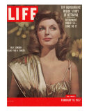 Singer Actress Julie London, February 18, 1957 Photographic Print by Leonard Mccombe