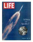 Schirra and Apollo 7, October 25, 1968 Photographic Print