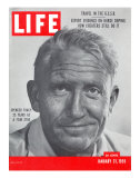 Actor Spencer Tracy, January 31, 1955 Lámina fotográfica por J. R. Eyerman