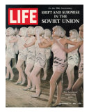 Russian Dance Hall Girls, Special Report on Life in the Soviet Union, November 10, 1967 Photographic Print by Bill Eppridge