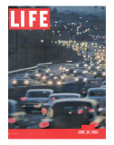Highway Congestion, June 20, 1960 Premium Photographic Print by Ralph Crane