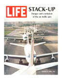 Stack-Up, Air Traffic Jam, August 9, 1968 Photographic Print by Bob Gomel