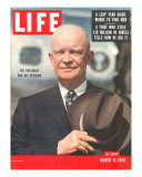 Dwight D. Eisenhower, March 12, 1956 Photographic Print by Hank Walker